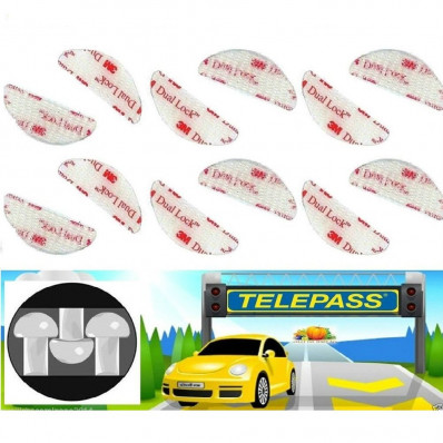 3M™ SJ3560 Dual Lock™ Tape Clear VHB Adhesive Shaped fasteners