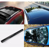 Shiny Black Car roof Wrap decorative vynil film (no bubbles)