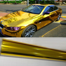 Chrome Mirror Gold Car Wrap decorative vynil film Shop Online