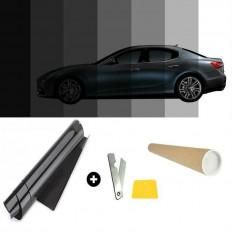 Pellicola oscurante antigraffio per vetri auto VLT 5% - 50cm x