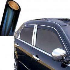 Pellicola oscurante antigraffio per vetri auto nera 20% -