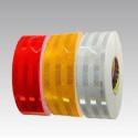 Cinta adhesiva reflectante de la marca 3M™ Diamond Grade 983 para señalización de los vehículos ( roja, blanca y amarillo)