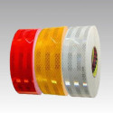 3M Diamond Grade 983 type-tested retro reflective adhesive tape (Red, White and Yellow)