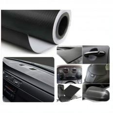 Papier autocollant en vinyle à effet carbone en plusieurs