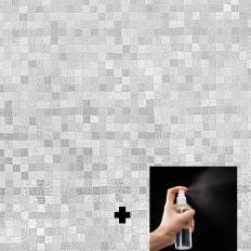 Pellicola Privacy Pixelata per Finestre Vetri-Autoadesive Anti-UV Controllo Calore