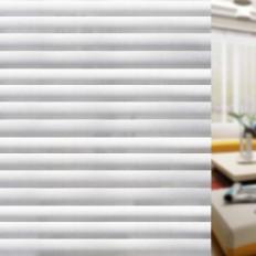 Pellicola Privacy effetto persiana per Finestre Vetri Autoadesive Anti-UV Controllo Calore