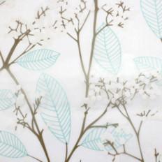 Pellicola Privacy effetto fiori per Finestre Vetri Autoadesive Anti-UV Controllo Calore