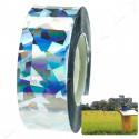 Irisierende reflektierende Poller mit Band-Blitze, die Vögel und andere Tiere 24 mm x 10 m zu erschrecken