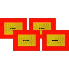 ECE 70.01 Painéis refletores para kit de 2 peças em classe 3 PVC ou alumínio