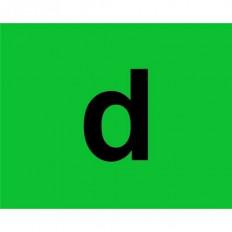 """12 étiquettes Signaux pour le transport de marchandises telles que les déchets """"R"""" ADR 40x40cm"""