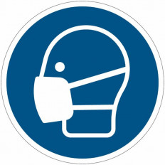 Safety Sign ISO 7010 - Protective Helmet Must Be Worn M008
