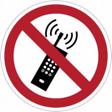 ISO 7010 «Запрещено трогать» знаки ПВХ - P010