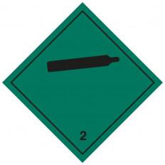 """Самоклеящаяся этикетка или алюминиевая опора ADR класса 3 """"Легковоспламеняющиеся жидкости"""" 300x300 мм"""