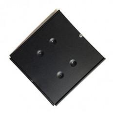 Supporto in acciaio e alluminio con molla in metallo per cartello ADR misura 300x300mm