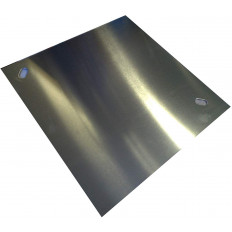 """Self-adhesive label or ADR aluminum support for 7.A division for """"Radioactive Materials Category II"""" 300x300mm"""