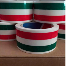 Italian flag Packaging tape - 50mm x 66MT Shop Online