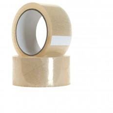 Клейкая лента для бесшумной прозрачной упаковки Акриловый полипропилен PPL - 66/132 м х 50 мм