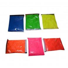 Pigmento additivo polvere luminescente fluorescente si illumina
