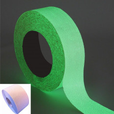 Phosphorescent anti-slip adhesive tape that glows in the dark -