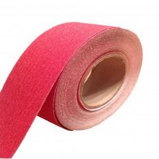 Fita adesiva antiderrapante vermelha para escadas e piso venda