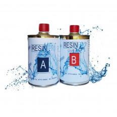 Résine époxyde transparent bicomposant à effet eau – 800gr