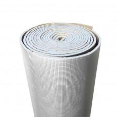 Fita protetora térmica fogo retardador proteção ouro / prata fibra de vidro 50mm x 5M