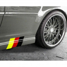 Autocolantes Banderia alemã para BMW series M3 E39 E46 E90 X3