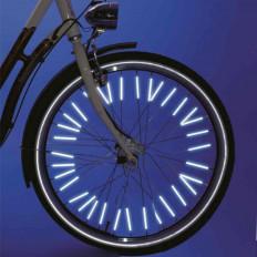 Copriraggi riflettenti catarifrangenti per bicicletta - 24 pezzi