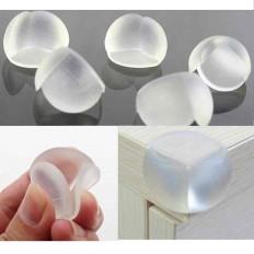 10 x Protetores de arestas em silicone para a segurança das