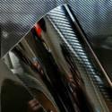 5D High Gloss Black Carbon Fiber Car Wrap decorative film