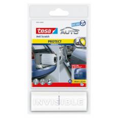 Película protectora transparente tesa ® Anti arañazos coche para alerones, umbrales de ventanas y frente capó bordes extra grand