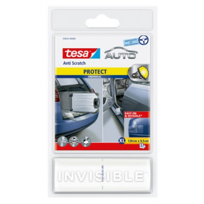 Película protetora transparente tesa ® Anti-carro zero para spoilers, peitoris e frontal capota bordas extra grandes