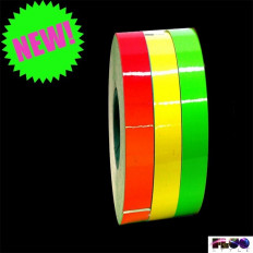 3 m ™ fluorescent adhesive strips Motorcycle rims stripe for wheel in 4 colors