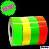 Nastro pellicola adesivo fluorescente alta visibilità giallo
