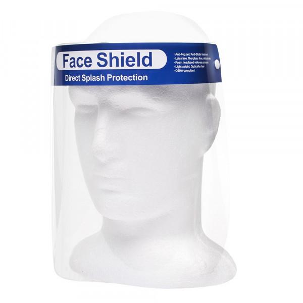 BESPORTBLE Protector Facial Anti Aceite Cara Completa Salpicadura de Saliva Anti Escudo Antivaho Pel/ícula Protectora Pel/ícula Protectora a Prueba de Rayos Ultravioleta Gorra de Protecci/ón