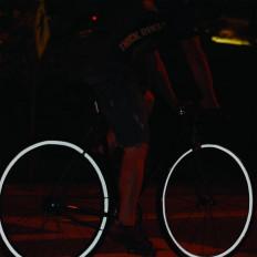 lahomia Adesivi per Ruote Riflettenti per Bici Nastro Riflettente per Ciclismo