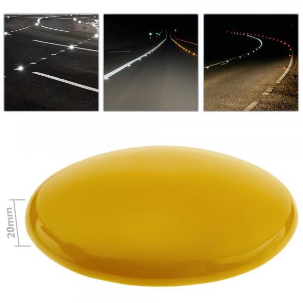 Riflettore Stradale Riflettore su Alluminio per rettangolo con LED Dioche Riflettore per segnaletica Orizzontale su Strada Riflettore di Emergenza Lampeggiante Accessori di Sicurezza