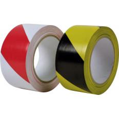 Nastro adesivo Scapa 2724 per segnalazione in zone di alto passaggio 50mm X 33MT rosso/bianco - giallo/nero