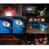 Tiras adhesivas reflectantes 3 m ™ marca para coche camión barco motocicleta 7 mm x 24MT