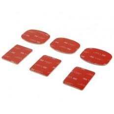 KIT 4 Stück Halter & Fassungen Gerichte mit 3M ™ Klebstoffe für