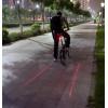 5 светодиодный свет с 2 лазера для велосипедов велосипед задние сигнальная лампа