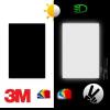 Cinta reflectante de vinilo negro scotchlite de la marca 3M™