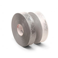 Strisce pellicole rifrangenti riflettenti da cucire 50mm x 2 MT alta qualità