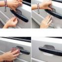 Película protetora transparente para o auto de goleiro alças anti arranhão 4 PCs.