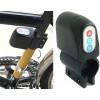 Bicicleta alarma de sonido digital con tecla de alarma con sirena más robo de bicicleta