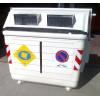 Fasce adesive rifrangenti riflettenti per cassonetti rifiuti materiale 3M™ 10/20 x 40cm classe 1/classe 2