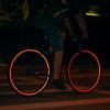 Refracta las tiras adhesivas ruedas marca banda reflectante de 3 m para rueda