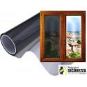 Film assombrissement zéro fenêtre maison ou campeur 20 % noir hauteur 75 cm x 300 cm