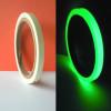 Cine cinta adhesiva fosforescente electroluminoso luces en el oscuro resplandor en la oscuridad