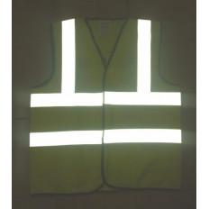 Filmes de reflexiva reflexivas de listras costura 25mm x 5 MT EN471 certificada